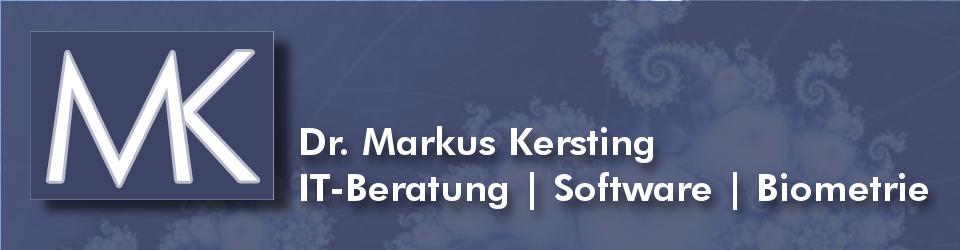 Dr. Markus Kersting