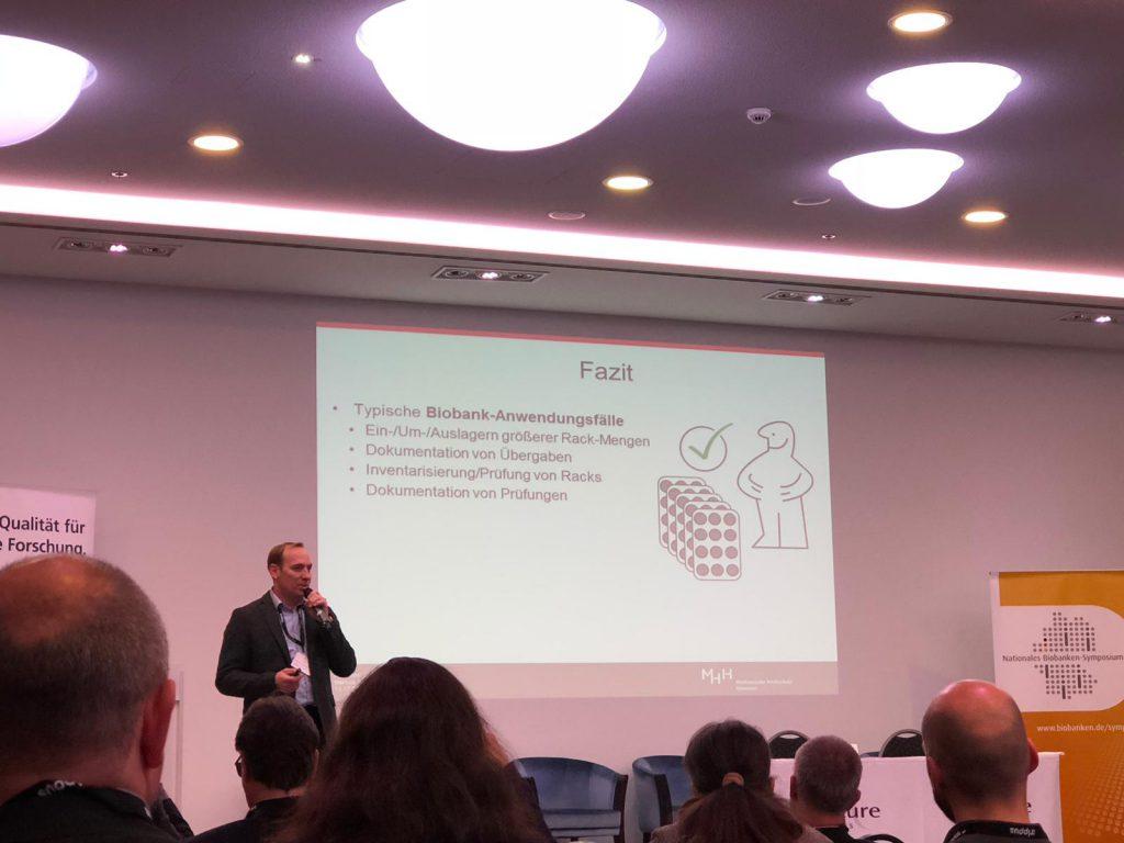 Biobank Symposium Berlin, Dr. Markus Kersting